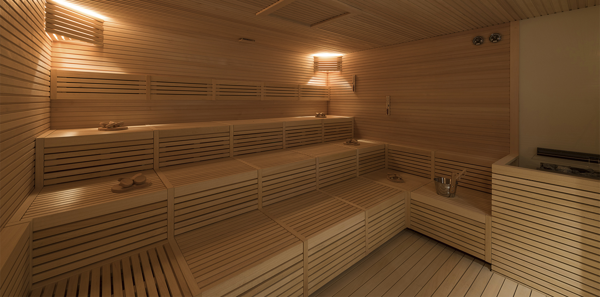 MSC Meraviglia, MSC Aurea Spa - Sauna