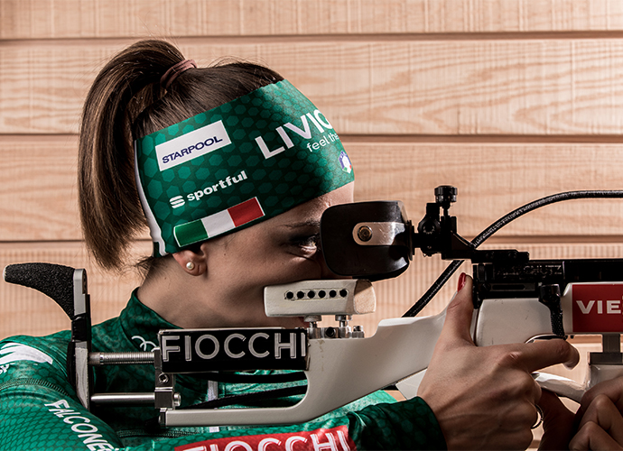 Starpool sponsor of Lisa Vittozzi, a biathlon rising star