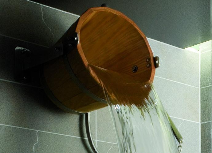 Wasserschwall