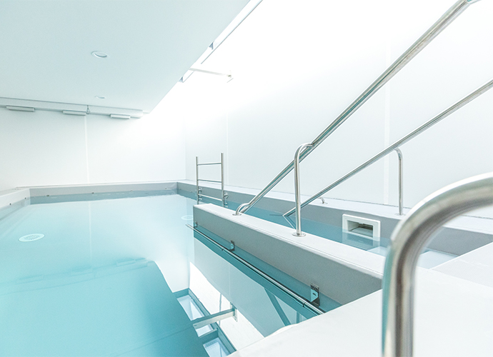 Rehabilitation pools