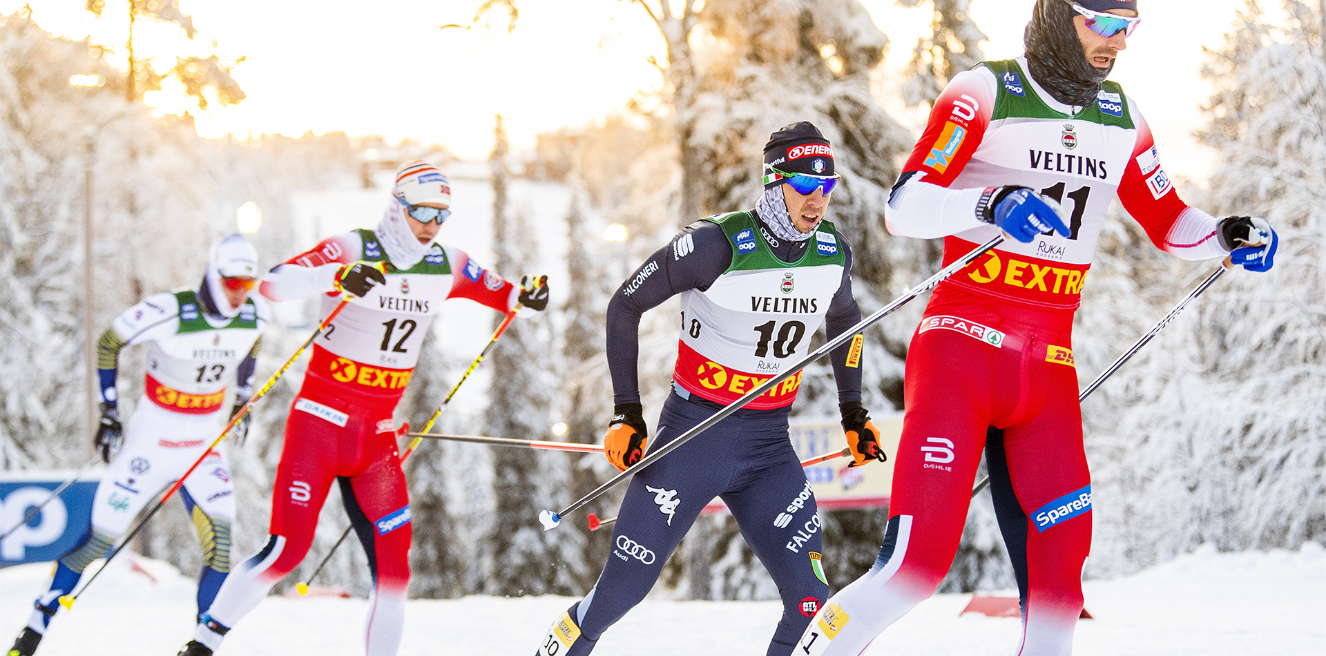 FIS world cup cross-country, pursuit men, Ruka (FIN)